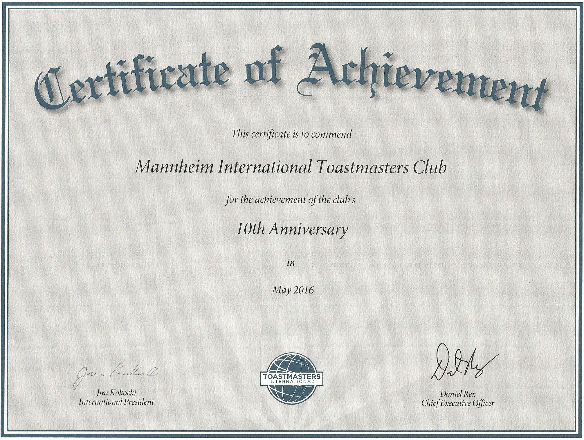 anniversary certificate - Acur.lunamedia.co